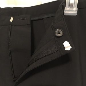 GAP black dress work pant sz 10A 44% Wool EUC